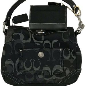 Coach Black Small Purse With Wallet